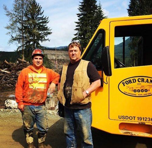 Two Ford Crane Men